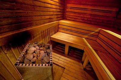 Sauna von Hotel Greenfield Golf Spa - Luxus und Wellness zu ...