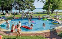 Plattensee - Kinderbecken in Club Tihany - Bungalows am Balaton
